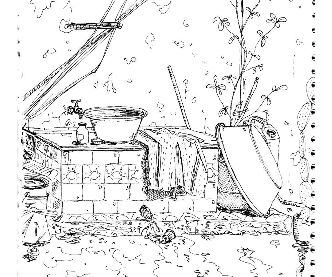 LUTOPIQUANT_croquis_Algerie_Machine-à-laver